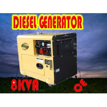 8kVA Generator! ! ! China Portable Small 6kw Generator Diesel Sale Price (CE, BV, ISO9001)